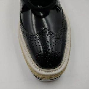 Prada Shoes - Prada Womens Wingtip Espadrilles Sz 8